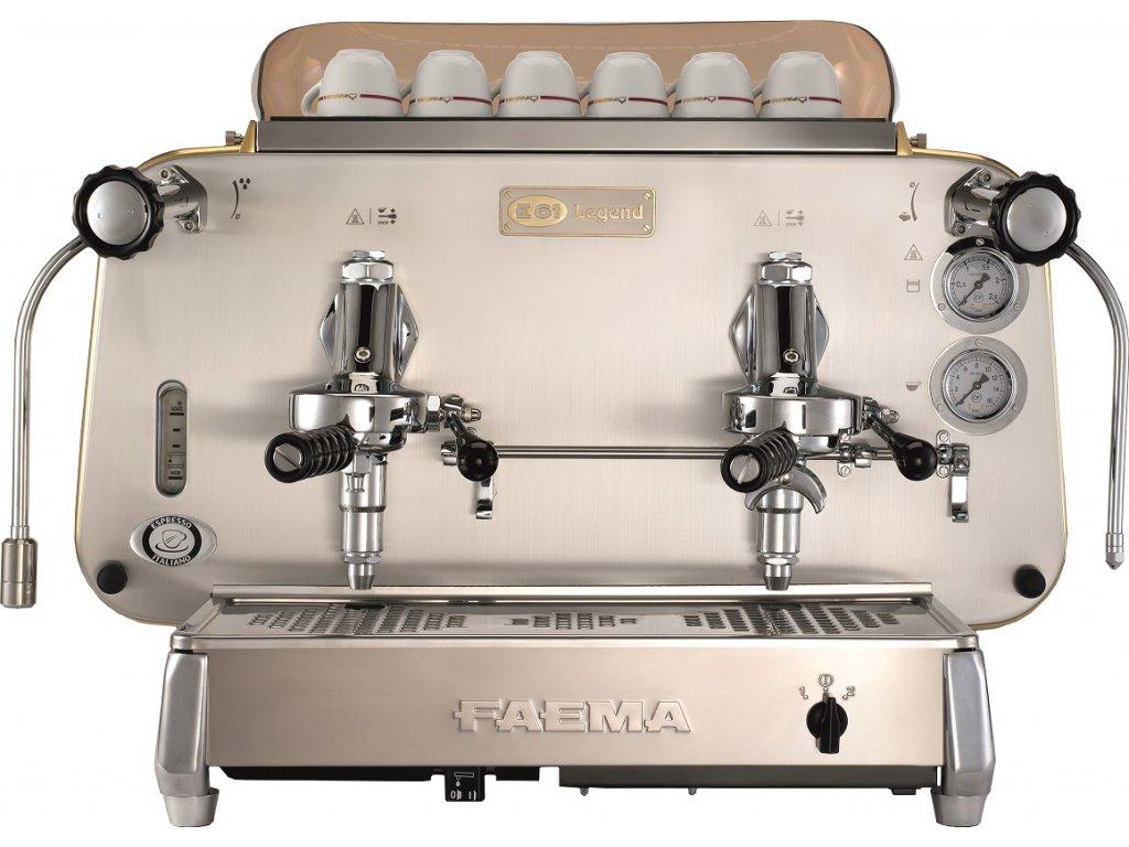 Kávovar dvojpákový E61 LEGEND