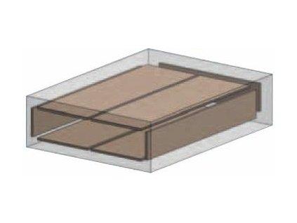 Celošamotová komora 6x Ø33 cm