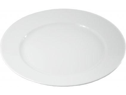 """Tanier plytký """"HOTEL"""" porcelánový Ø 21 cm"""