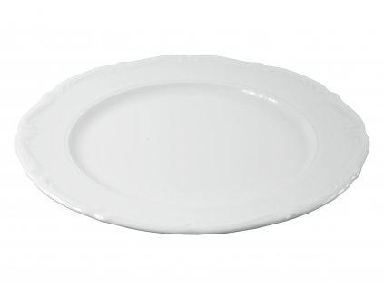 """Tanier plytký """"BAROK"""" porcelánový Ø 21 cm"""