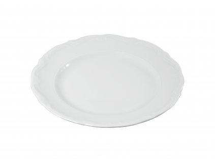 """Tanier plytký """"BAROK"""" porcelánový Ø 19 cm"""