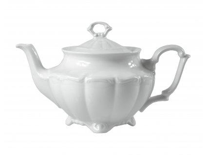 """Kanvica """"BAROK"""" na čaj porcelánová 1,1 l"""