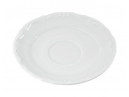 """Podšálka """"BAROK"""" porcelánová Ø 12,5 cm"""