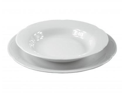 """Tanier hlboký """"CASTELLO"""" porcelánový Ø 22,5 cm"""