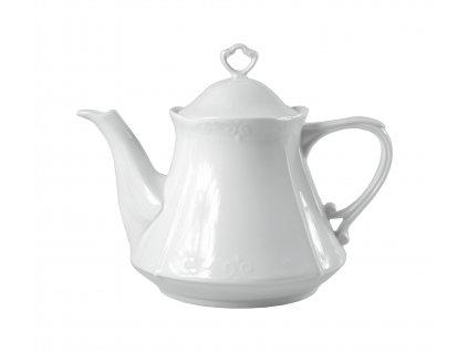 "Kanvica ""CASTELLO"" na čaj porcelánová 1,1 l"