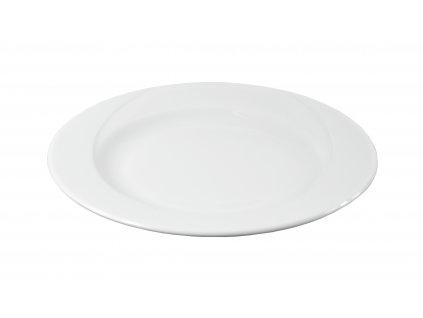 "Tanier plytký ""DELTA"" porcelánový Ø 20,5 cm"