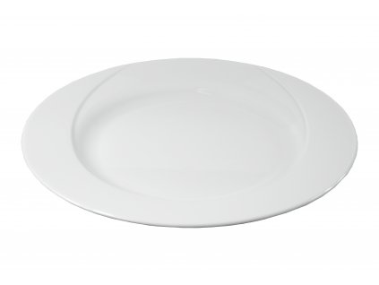 "Tanier plytký ""DELTA"" porcelánový Ø 27 cm"