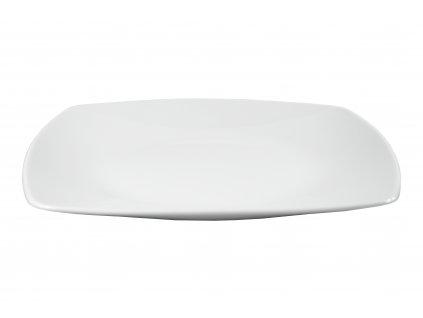 """Tanier plytký """"OPERA"""" porcelánový 25,5x25,5 cm"""