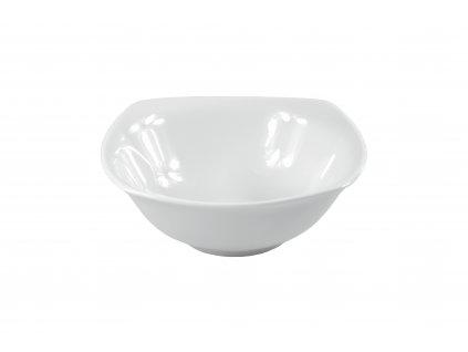 "Miska ""OPERA"" na šalát porcelánová 15,5x15,5 cm"