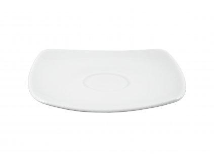 """Podšálka """"OPERA"""" porcelánová 12,5x12,5 cm"""
