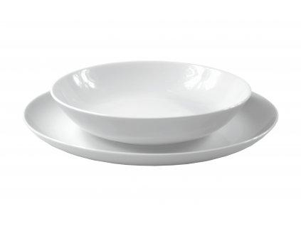 """Tanier hlboký """"VENEZIA"""" porcelánový Ø 21 cm"""