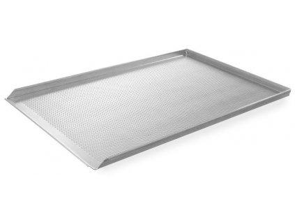 plech hlinikovy perforovany 60x40 cm sivy