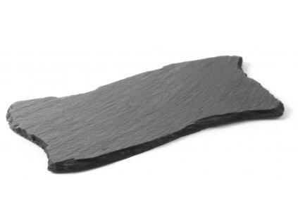 podnos kameninovy na servirovanie 20x10 cm 2 ks atypicky tvar