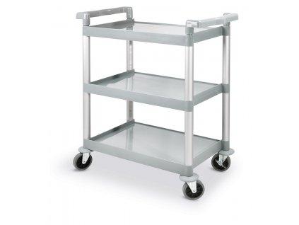 vozik servirovaci trojpolicovy 80x41x95 cm