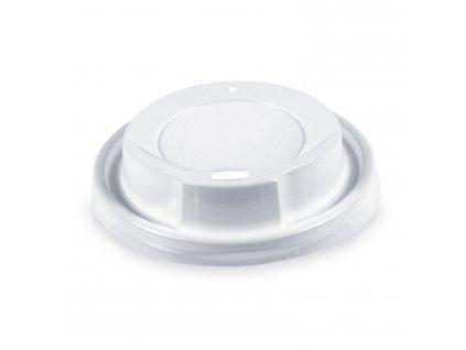 Viečko vypuklé biele Ø 8 cm