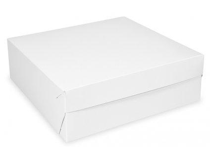 Krabica tortová 18x18x9 cm