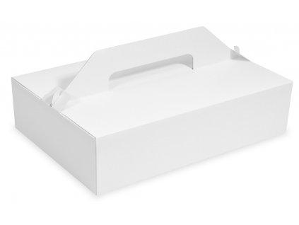 Nosič na zákusky 27x18x8 cm