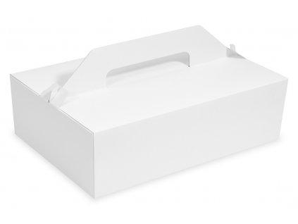 Nosič na zákusky 27x18x10 cm