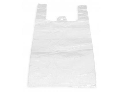 Tašky biele 30+18x55 cm