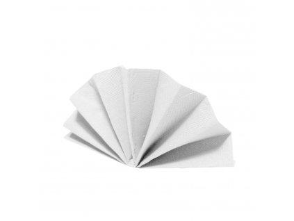 Obrúsky DekoStar 40 x 40 cm biele [40 ks]