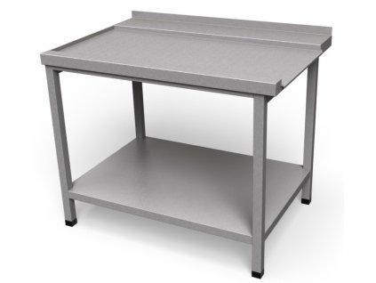 Odoberací stôl s policou OS 02