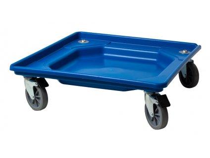Vozík bez bŕzd manipulačný 55x55x12 cm