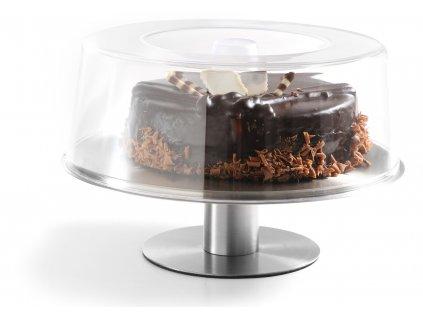 podnos otocny s poklopom na tortu