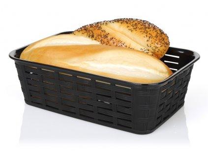 Košík na pečivo 15x23x7 cm