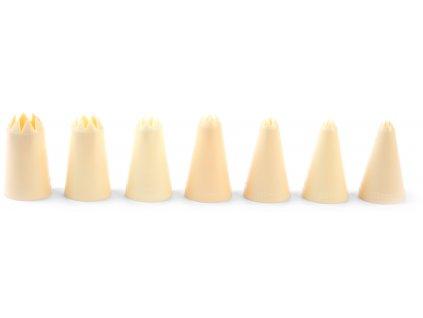 Trysky plniace ozúbené Ø 3-5-7-9-11-13-15 mm