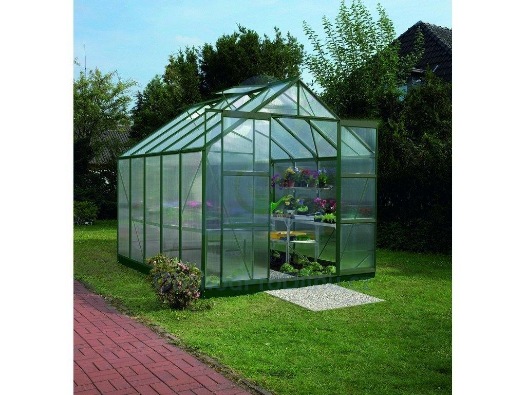 Skleníky, zahradní domky