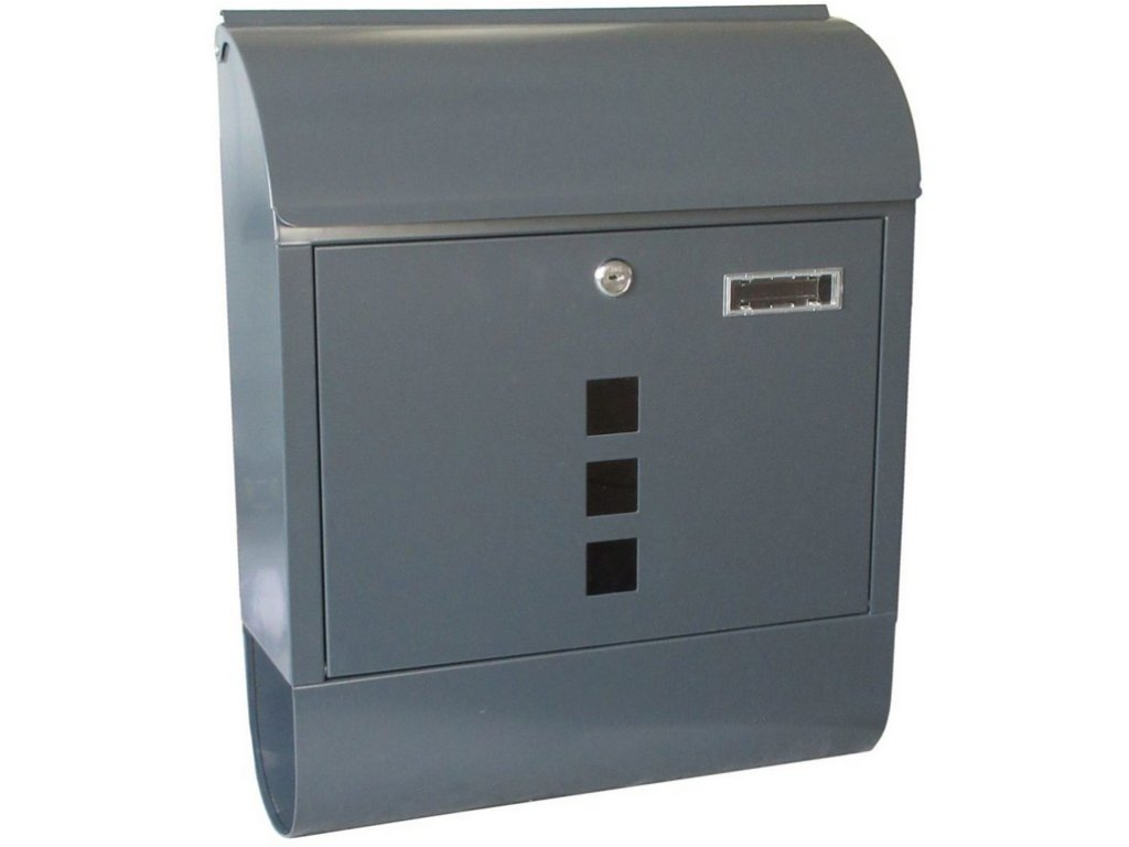schránka poštovní 380x465x125mm s tubusem ANTR