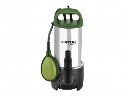 EXTOL CRAFT 414163 čerpadlo ponorné nerezové, 1100W, 16500l/hod