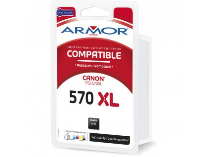 B12668R1 PGi570BK XL CARTR.CANON ARMOR