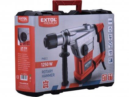 EXTOL PREMIUM 8890101 kladivo vrtací a sekací, SDS MAX, 10J