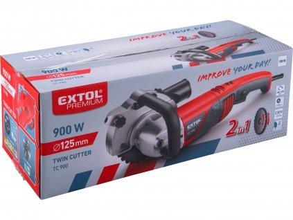 EXTOL PREMIUM 8893020 pila dvoukotoučová, 125mm, 900W