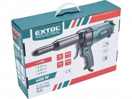 EXTOL INDUSTRIAL 8794550 nýtovací pistole, elektrická
