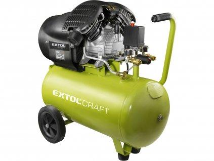 EXTOL CRAFT 418211 kompresor olejový, 2200W, 50l