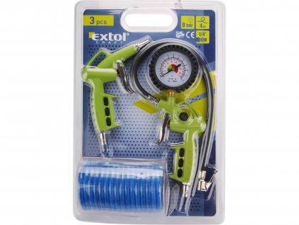 EXTOL CRAFT 99302 kompresorová sada, pneu, 3ks