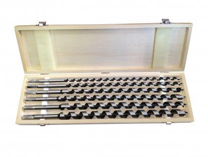 EXTOL PREMIUM 8801292 vrtáky hadovité do dřeva, sada 6ks, ∅10-20x460mm