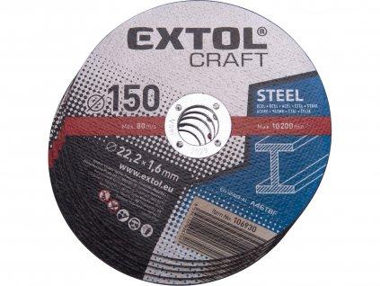EXTOL CRAFT 106930 kotouče řezné na kov, 5ks, 150x1,6x22,2mm
