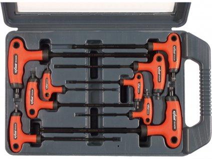 EXTOL PREMIUM 8819401 T-klíče TORX, sada 9ks, T10-50mm