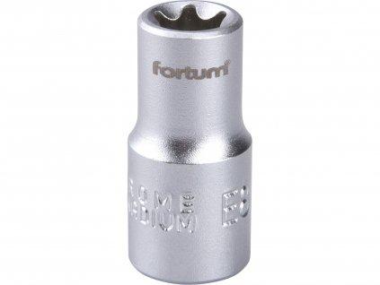 """FORTUM 4701708 hlavice nástrčná vnitřní TORX 1/4"""", E 8, L 25mm"""