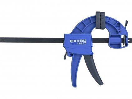 EXTOL CRAFT 715521 svěrka rychloupínací, 150mm, 165-300mm