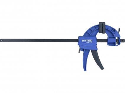 EXTOL CRAFT 715523 svěrka rychloupínací, 300mm, 165-450mm