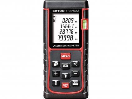 EXTOL PREMIUM 8820043 metr laserový digitální 80M, 0,05-80m