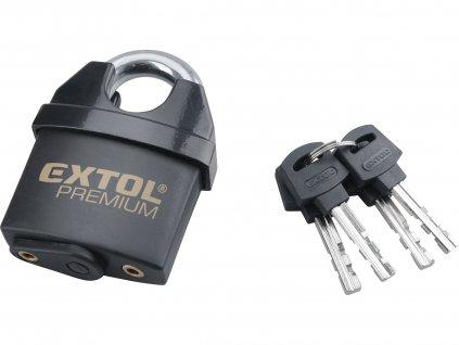 EXTOL PREMIUM 8857760 zámek visací, voděodolný, 60mm