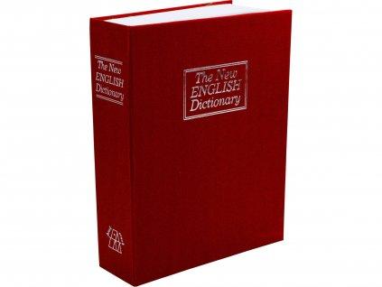 EXTOL CRAFT 99026 schránka bezpečnostní - knížka, 265x205x65mm