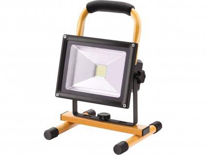 EXTOL LIGHT 43125 reflektor LED, nabíjecí s podstavcem, 700/1400lm, Li-ion