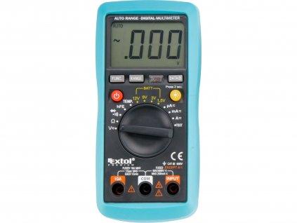 EXTOL PREMIUM 8831250 multimetr digitální s automatickou volbou rozsahů
