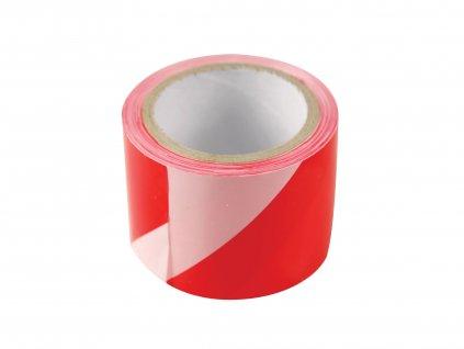 EXTOL CRAFT 9568 páska výstražná červeno-bílá, 75mm x 250m, PE, s nápisem ZÁKAZ VSTUPU po celé délce pásky
